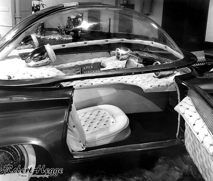 Darryl Starbird's Predicta custom car is displayed at an automobile show in the 1960's. (Photo by Robert Hegge/Pizac Photography LLC) ** ALL RIGHTS RESERVED **